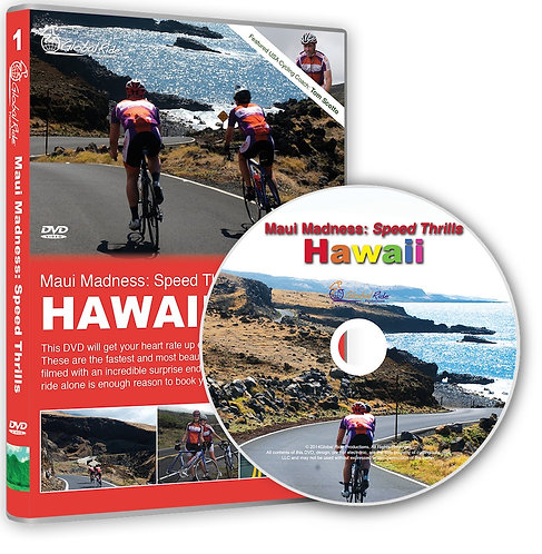 Maui Madness: Speed Thrills Virtual Cycling DVD