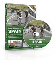 Global Ride: Power & Endurance in Spain Virtual Cycling DVD