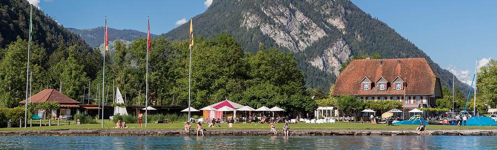 Strandbad im Neuhaus Thunersee Interlake