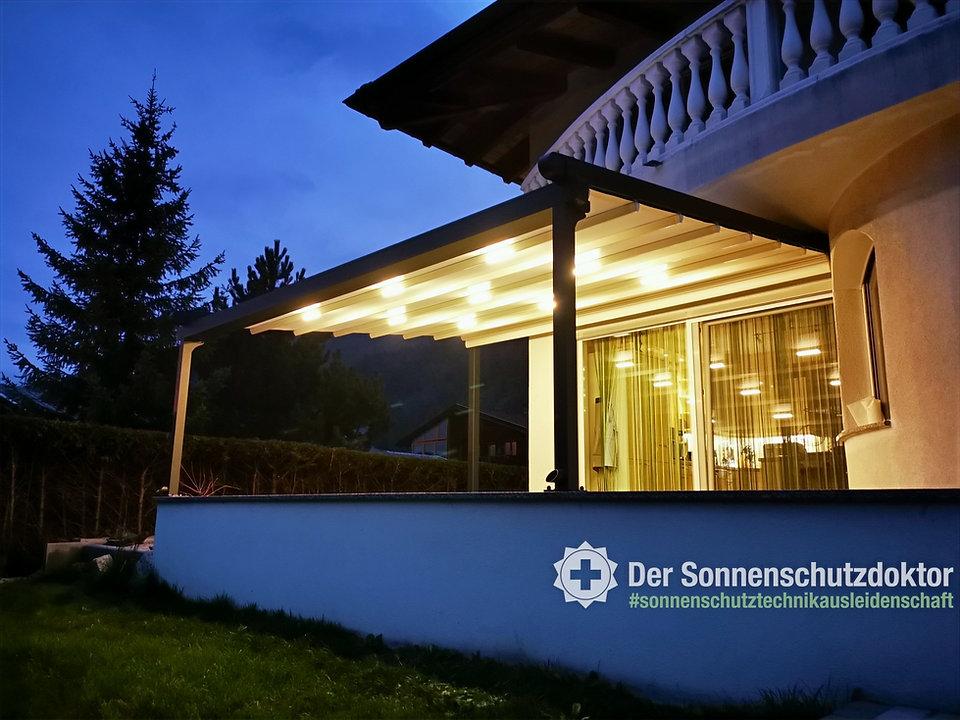 Terrassenbeschattung, Pergola, Outdoor Living, Faltdach, Mobile Beschattung