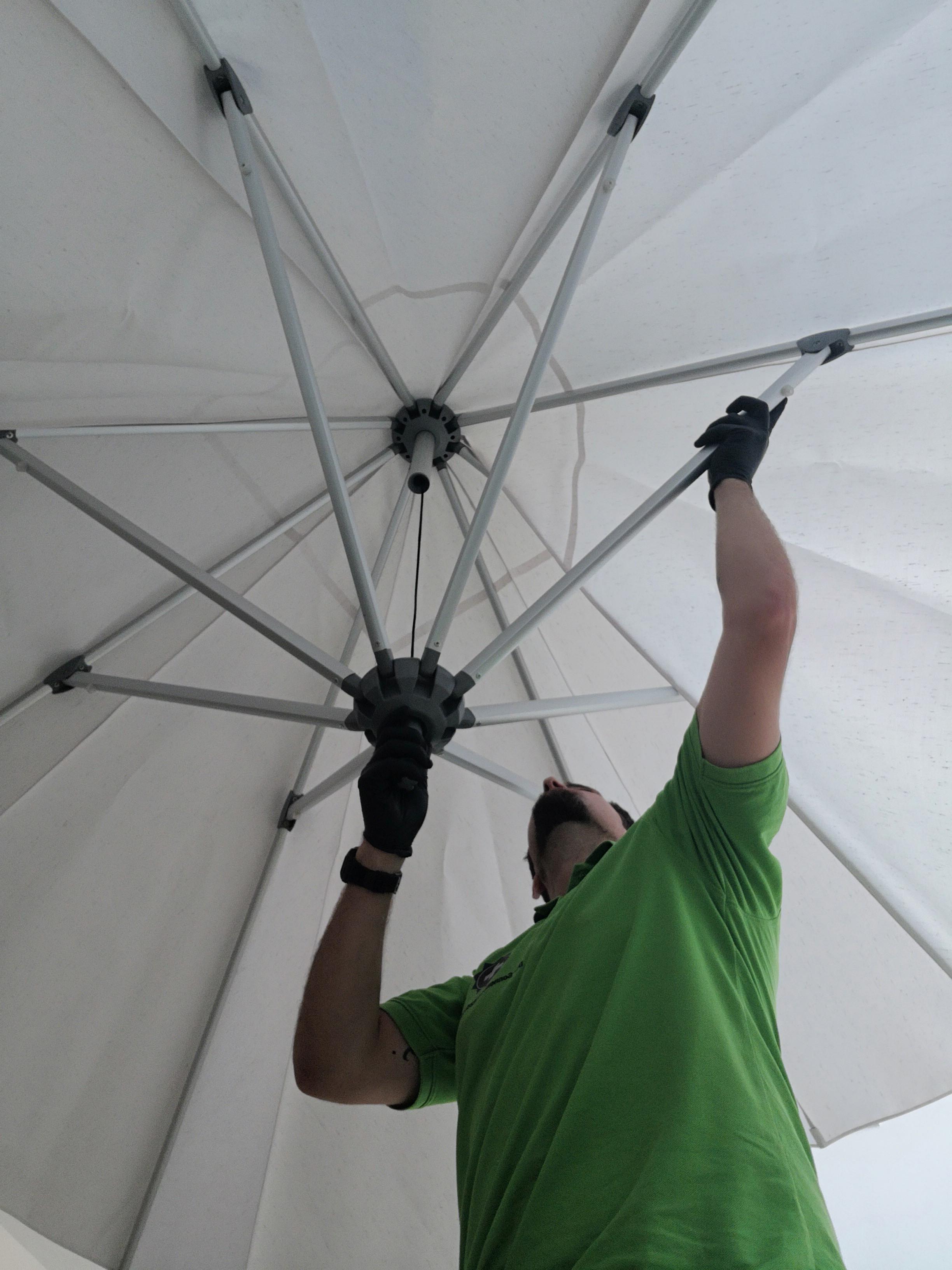 Schirmreparatur
