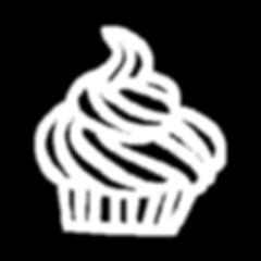 Frosted Weiß Kuchen