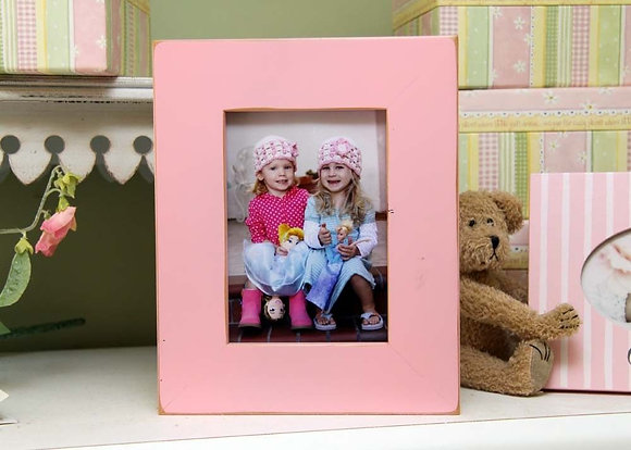 "5x7 Gallery 2"" border picture frame - Petal Pink"