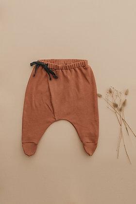 Bow Pantolon Gül Kurusu
