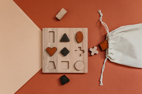 Shapes Wooden Puzzle