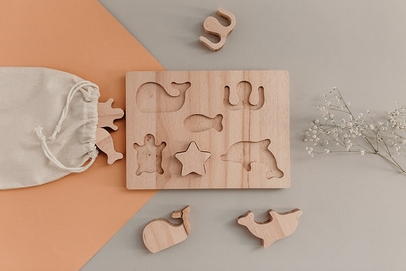 Ocean Wooden Puzzle