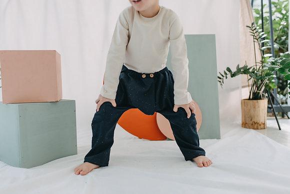 Atticus Navy Pants
