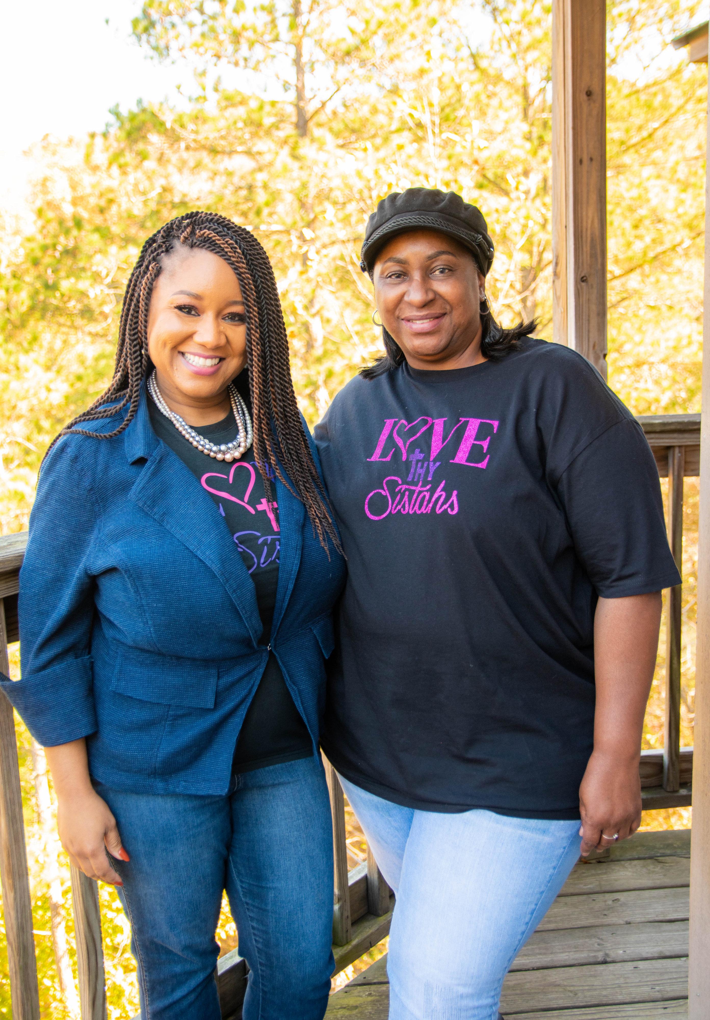 Natrosha and Ms. Gloria