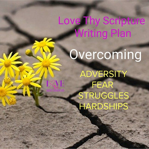 31 Day Scripture Writing Plan: Overcoming Fear...