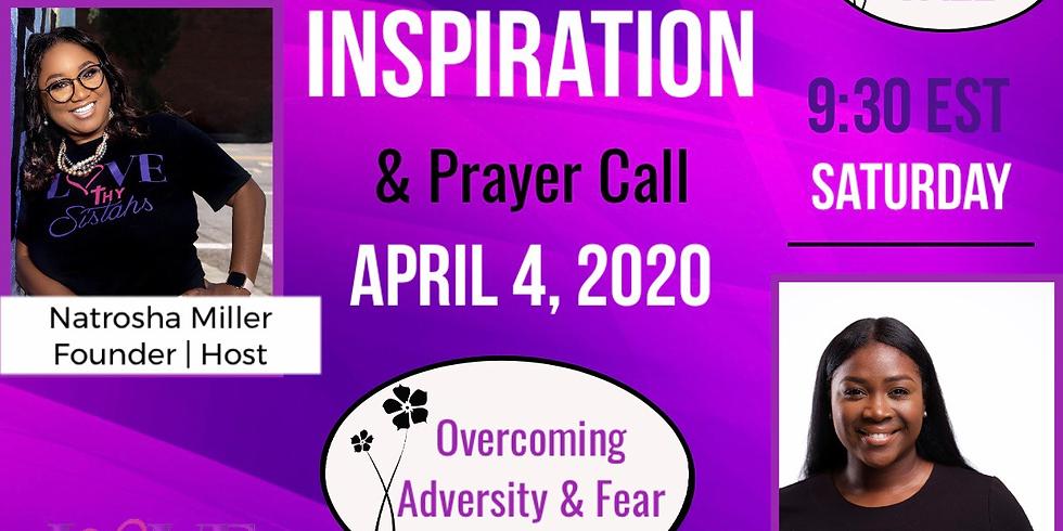 April Morning Inspiration & Prayer