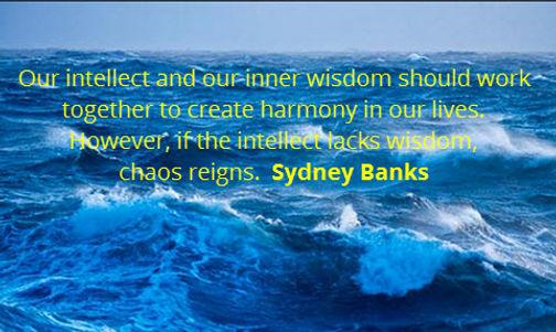 Sydney Banks quote