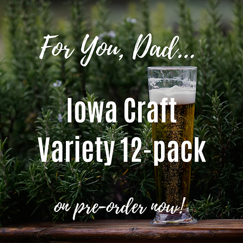 Father's Day Iowa Craft Variety 12-pack