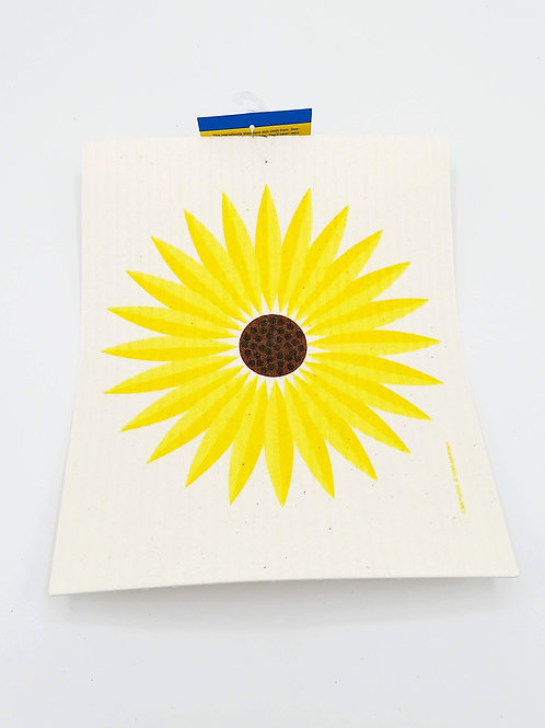 Sunflower Swedish Dish Cloth