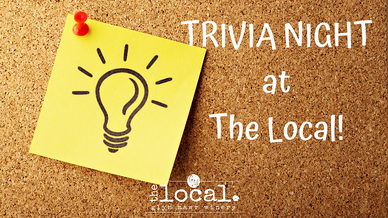 Trivia Night at The Local!