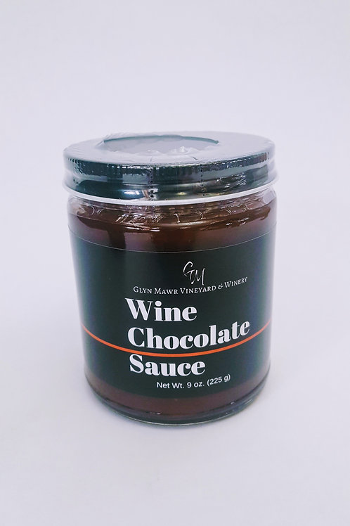 Wine Chocolate Sauce