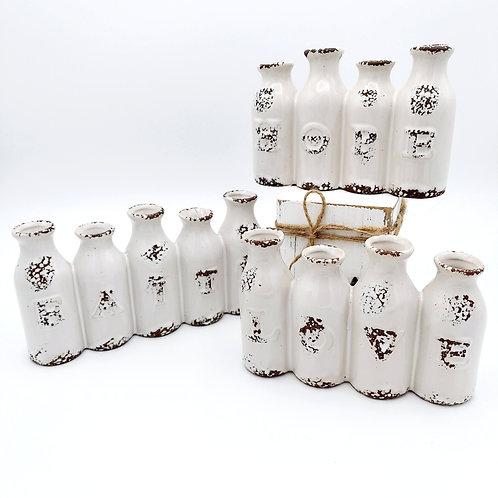 Faith, Hope, Love Vases