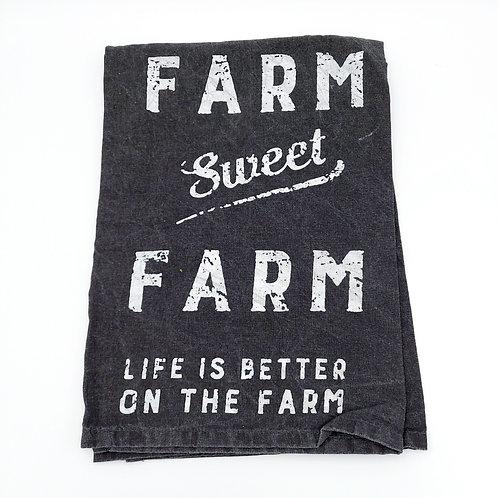 Farm Sweet Farm Dish Towel