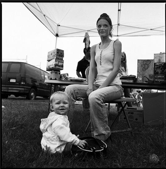 mother and daughter - hadley flea market