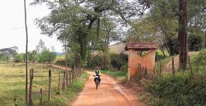 """""""Viajar de bike é igual à jornada da vida!"""
