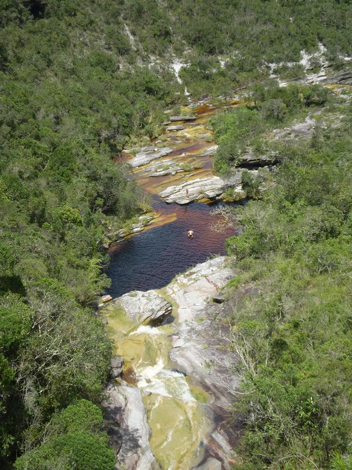 Lago da Cachoeira dos Macacos