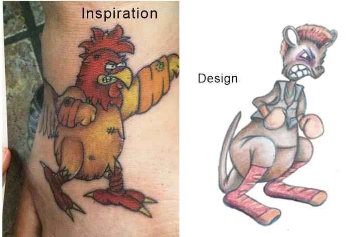 Interpretation of copyright images, Queen Fur