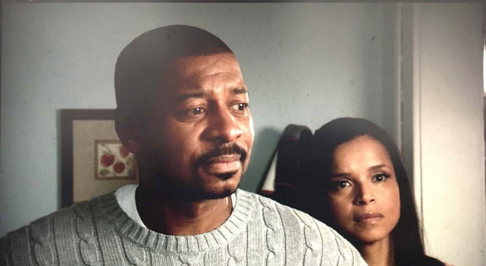Robert Townsend and Victoria Rowell in Of Boys and Men