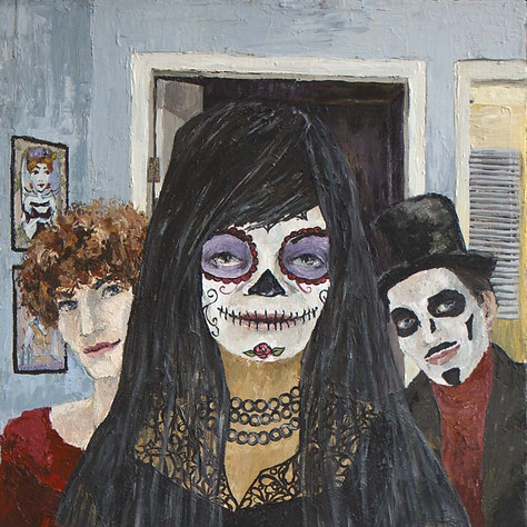 Tonette as Day of the Dead