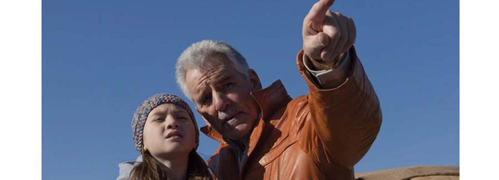 Dennis Farrina and Meredith Meredith Droeger in Last Rites of Joe May