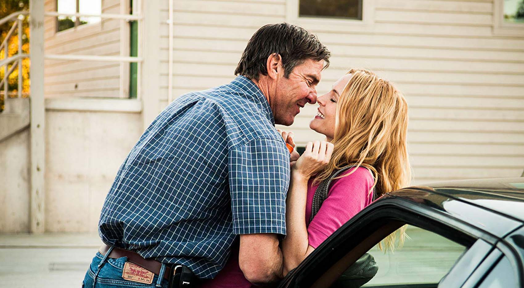 Dennis Quaid and Heather Graham in Heartland