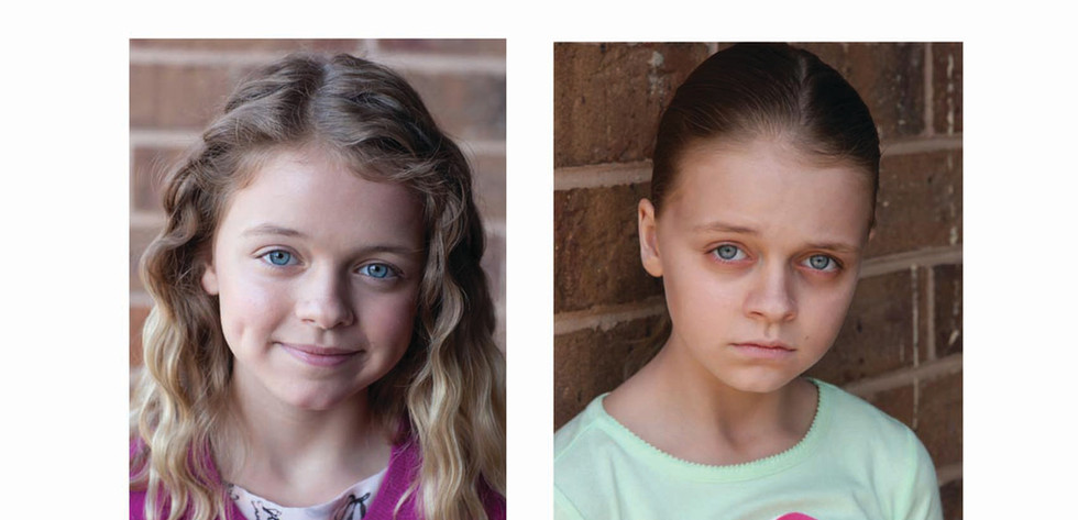 Kyle Rogers in Miracles from Heaven, healthy to sick look
