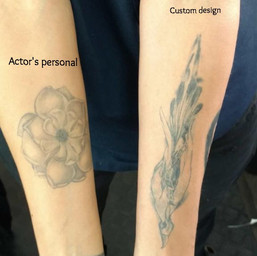 Proven Innocent/ pilot Design to go with actor's personal tattoos