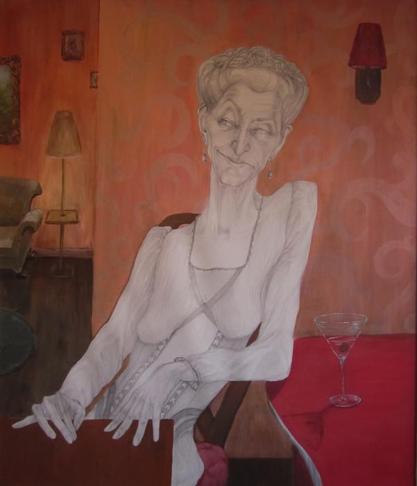 Irma at her Third Martini