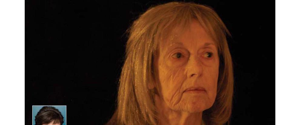 Series of small things, Jane Alderman Old age stipple makeup