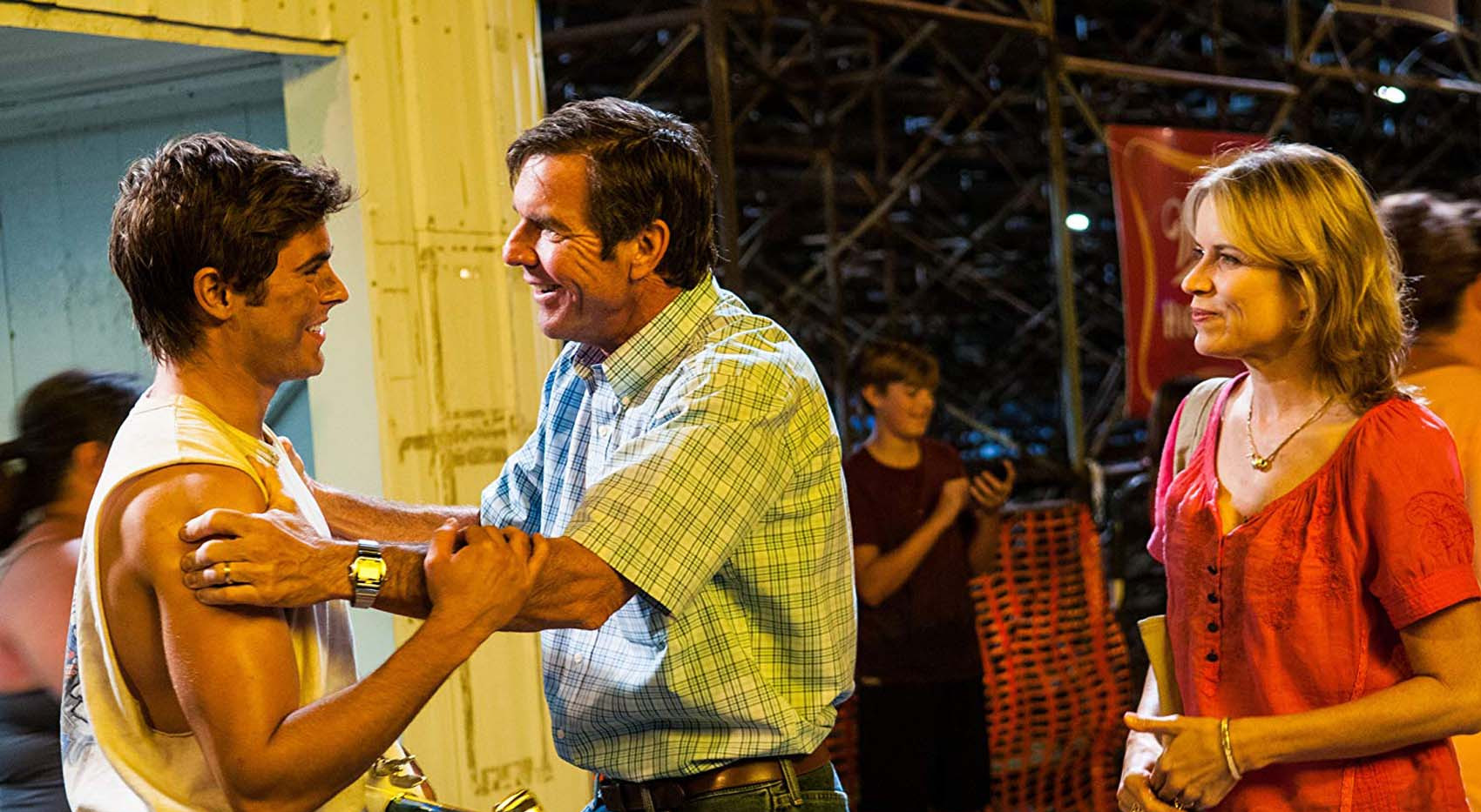 Dennis Quaid, Kim Dickens, and Zac Effront in Hearland