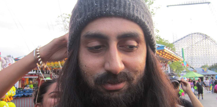 Abbisheck Bashan in Dhoom 3, in Hobo disguise
