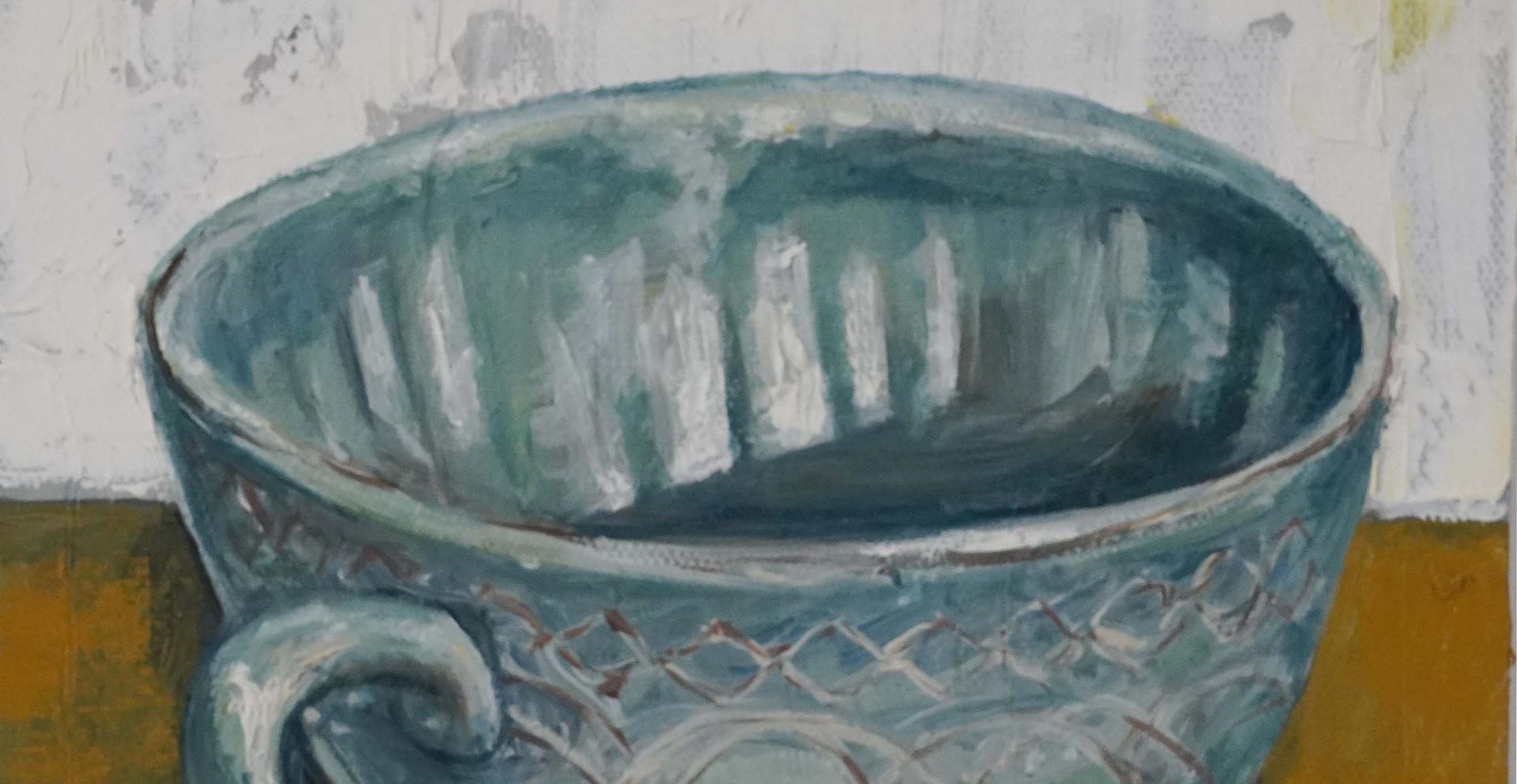 Study cappucino cup