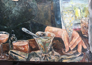 Savoy party- serving absinthe