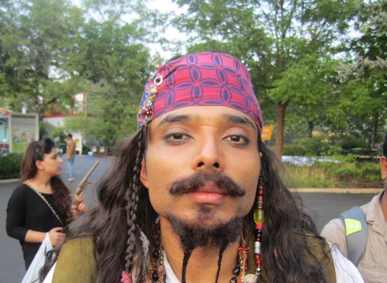 Uday Chopra, Dhoom 3, i Jack Sparrow disguise