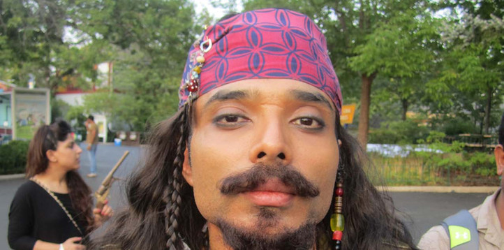 Uday Chopra, Dhoom 3, i Jack Sparrow disguise