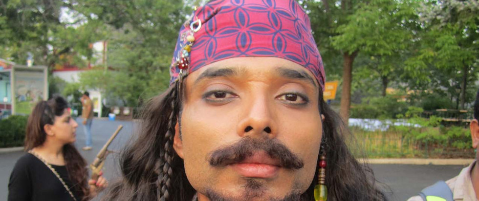 Dhoom 3 Jack Sparow disguise makeup