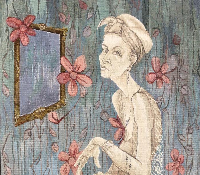 Irma in her Boudoire-tapestry 2