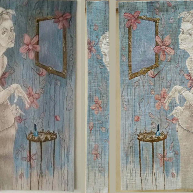 Irma Boudoire three tapestries