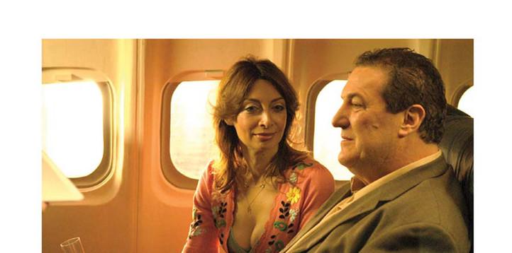 Eleana Douglas and Mike Starr in Ossobucco