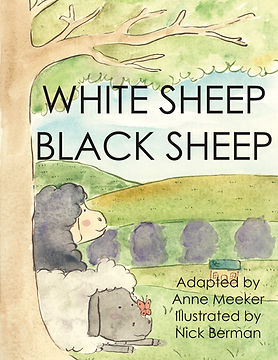 WHITE SHEEP Picture Book cover (teaching