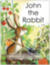JOHN THE RABBIT Picture Book cover (blac