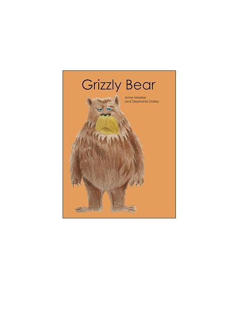 Ten Little Books: GRIZZLY BEAR