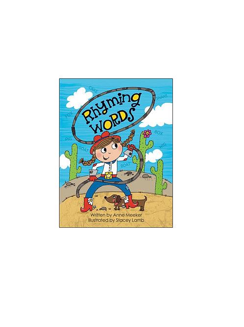 Ten Little Books: RHYMING WORDS
