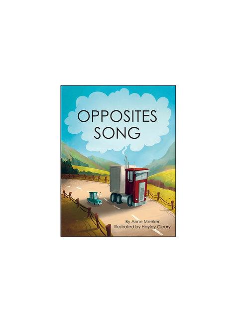 Ten Little Books: OPPOSITES SONG