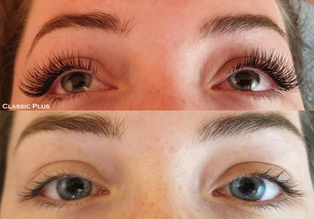 ClassicPLUS eyelash extensions