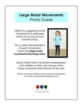 Motor movement guide with black line cop